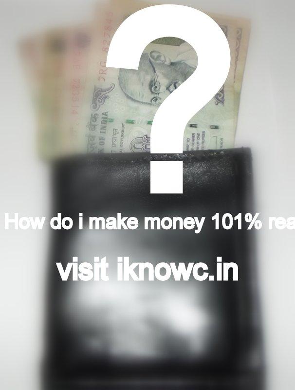 how do i make money