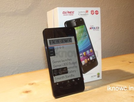 Gionee dream d1 review
