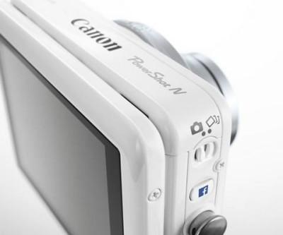 Cannon PowerShot N Facebook ready