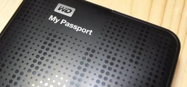 WD my passport 1TB