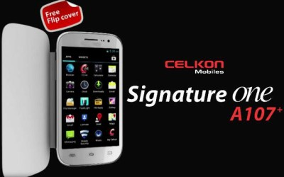 celkon a107+ signature one launched specs price
