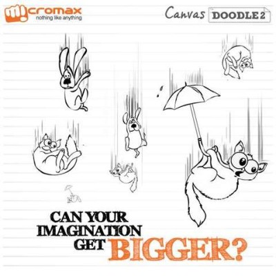 Micromax canvas doodle 2 coming soon