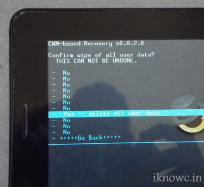 HOW TO factory reset your phone,tablet
