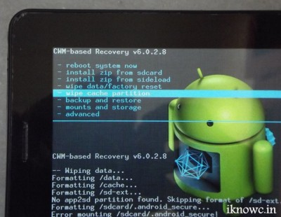 HOW TO factory reset your Android,tablet