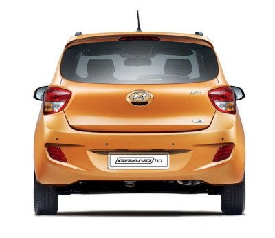 Hyundai Grand i10 Launched rear look