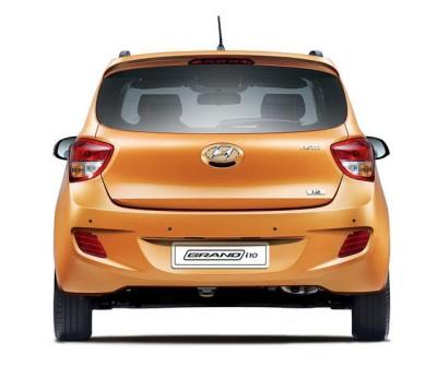 Hyundai Grand i10 Launched rear look