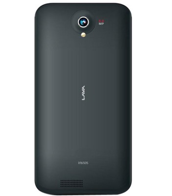 Lava Iris 505 back view