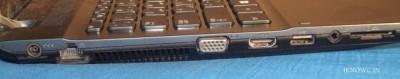 Samsung ATIV Book 2 Notebook terminals ports