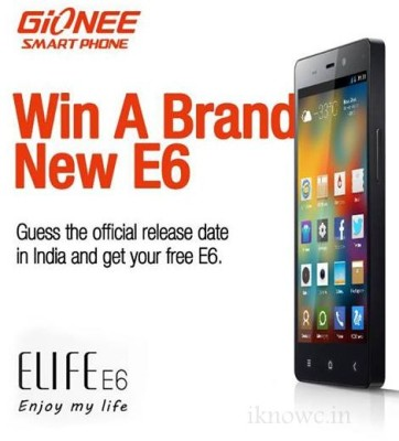 gionee elife e6 facebok guess
