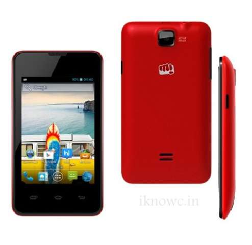 Micromax A58 Bolt price