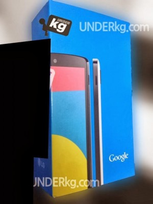 nexus 5 retail box leak