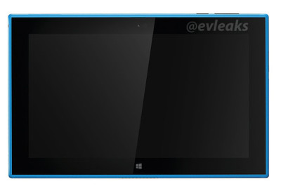 Nokia lumia 2520 leaked in cyan