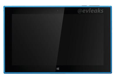 Nokia lumia 2520 leaked in cyan