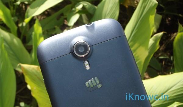 Micromax A117 camera
