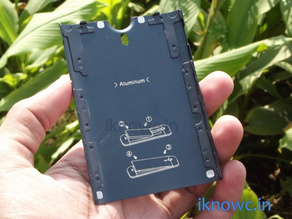 Micromax canvas Magnus A117 back cover