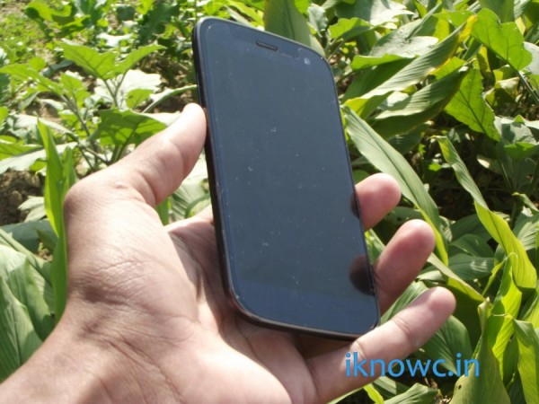 Micromax canvas Magnus A117 unboxing display