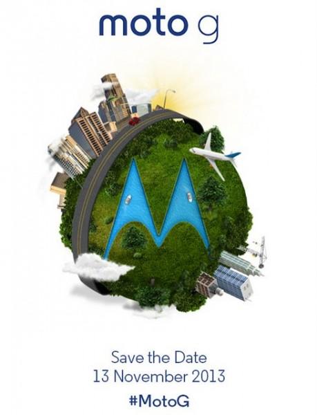 Motorola Moto G launch