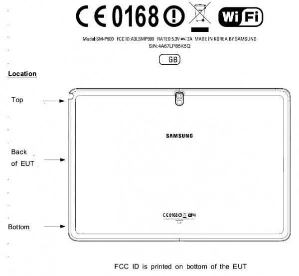 Samsung Galaxy Note 12.2 FCC leak