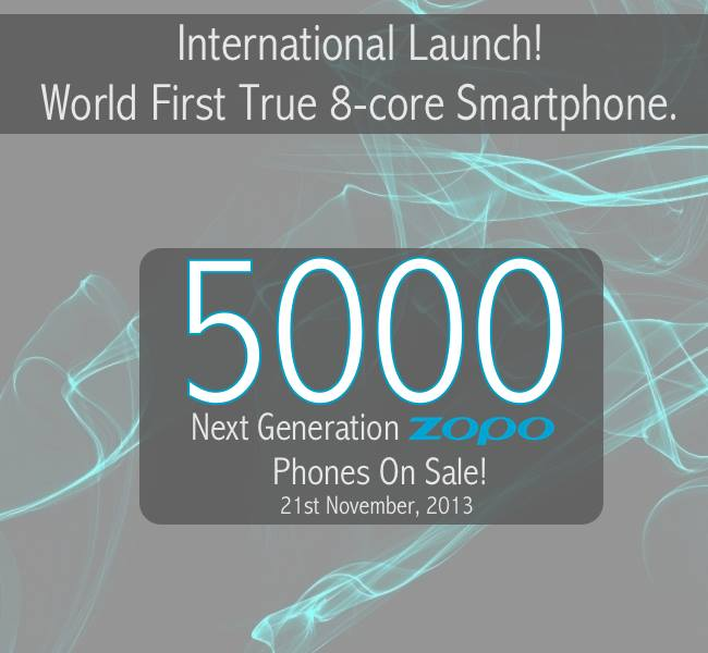 zopo zp1000 launch date true octa core