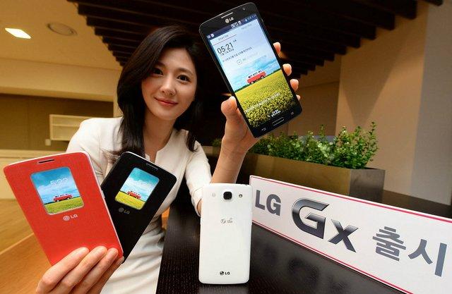 LG optimus Gx launch Korea