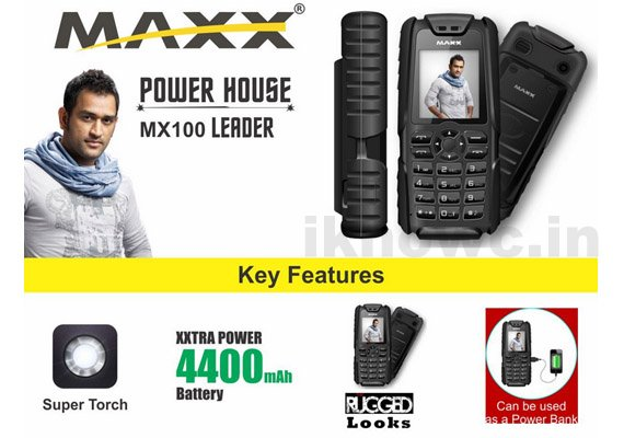 Maxx mx100 leader