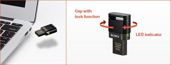 spusb dual sony flash drive