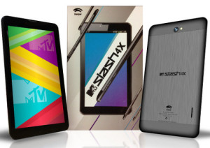 Swipe MTV Slash 4X calling tablet launched for a price of RS. 9999