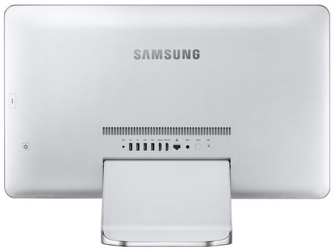 Samsung ATIV One 7 2014 Edition back ports