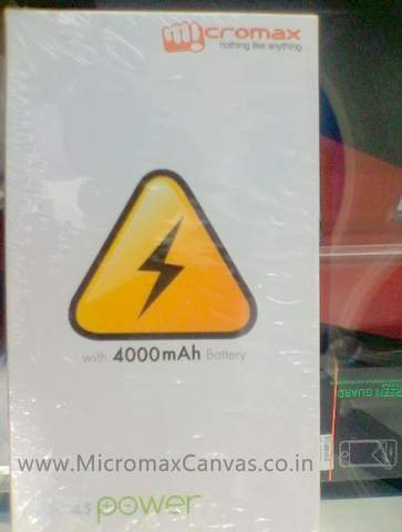 Micromax canvas power