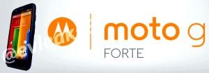 Motorola Moto G Forte leaked