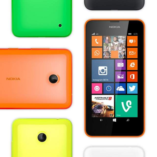 nokia lumia 635 color