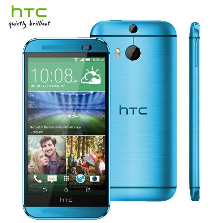 Blue HTC One M8 UK