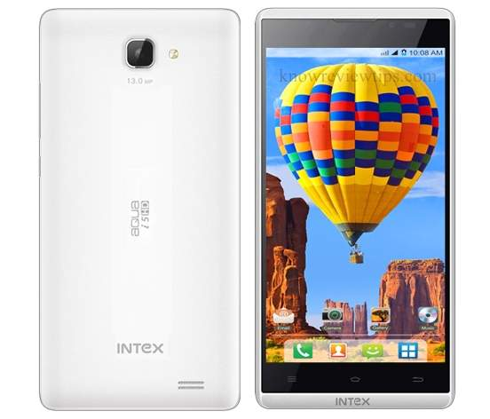 intex aqua i5 hd review