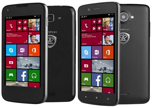 Prestigio MultiPhone 8400-DUO and MultiPhone 8500 DUO