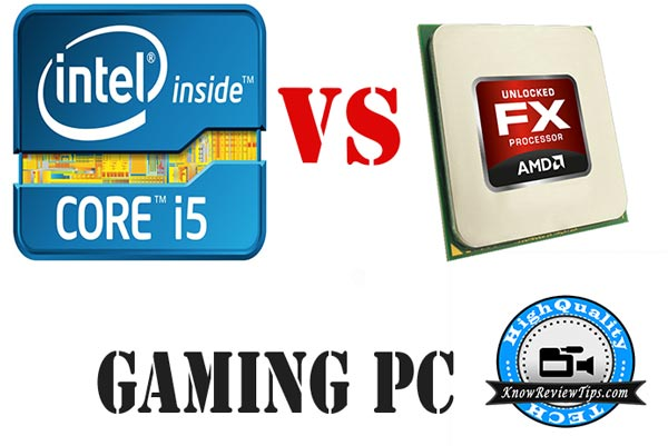 INTEL VS AMD CPU PERFORMANCE FX-8350 & core-i5