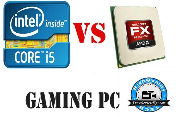 INTEL VS AMD CPU PERFORMANCE FX-8350 & core-i5