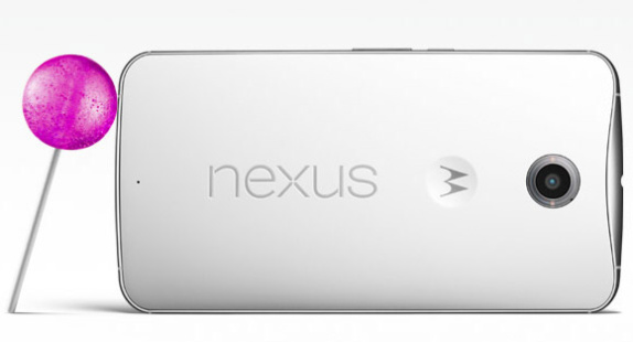 nexus 6 back