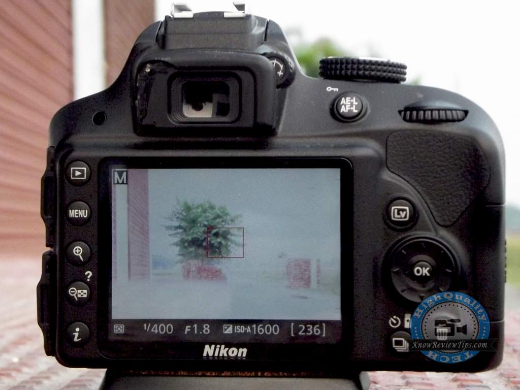 Nikon d3300 display outdoor live view