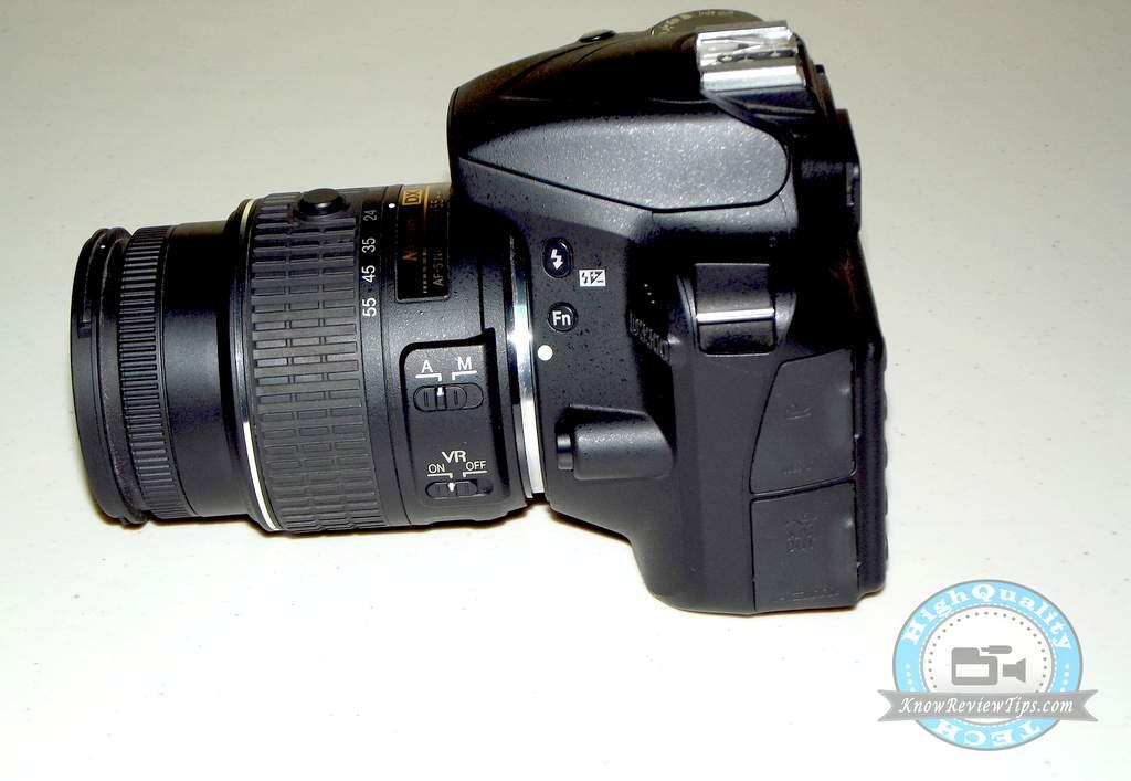 nikon d3300 kit lens