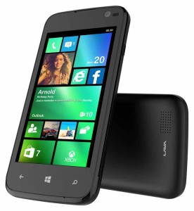 Lava Iris Win 1 with 1GB RAM, Windows Phone OS for price of RS 4500