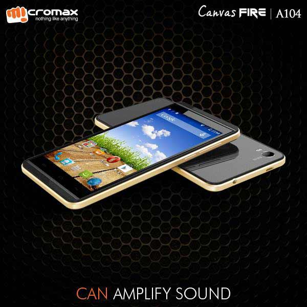 Micromax A104 Canvas Fire 2