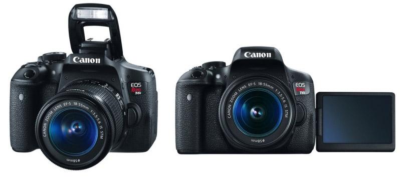 Canon EOS Rebel T6i 750D