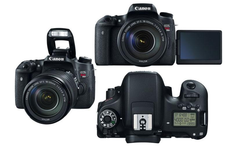 Canon Rebel T6s EOS 760D