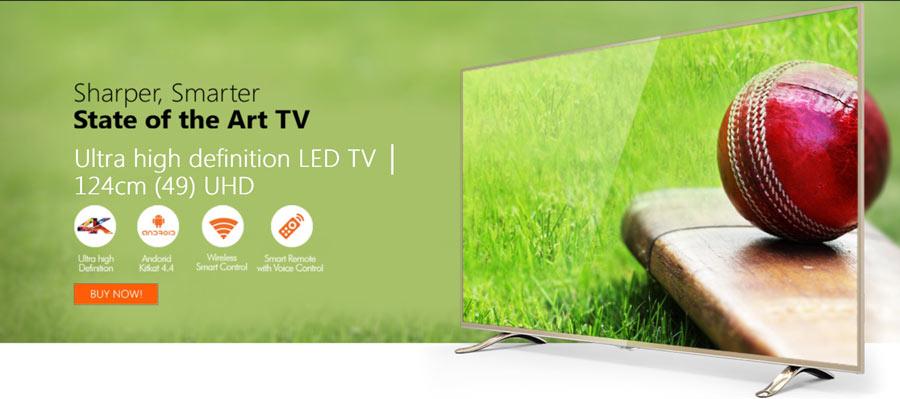 Micromax 50K2330UHDTV 4K TV