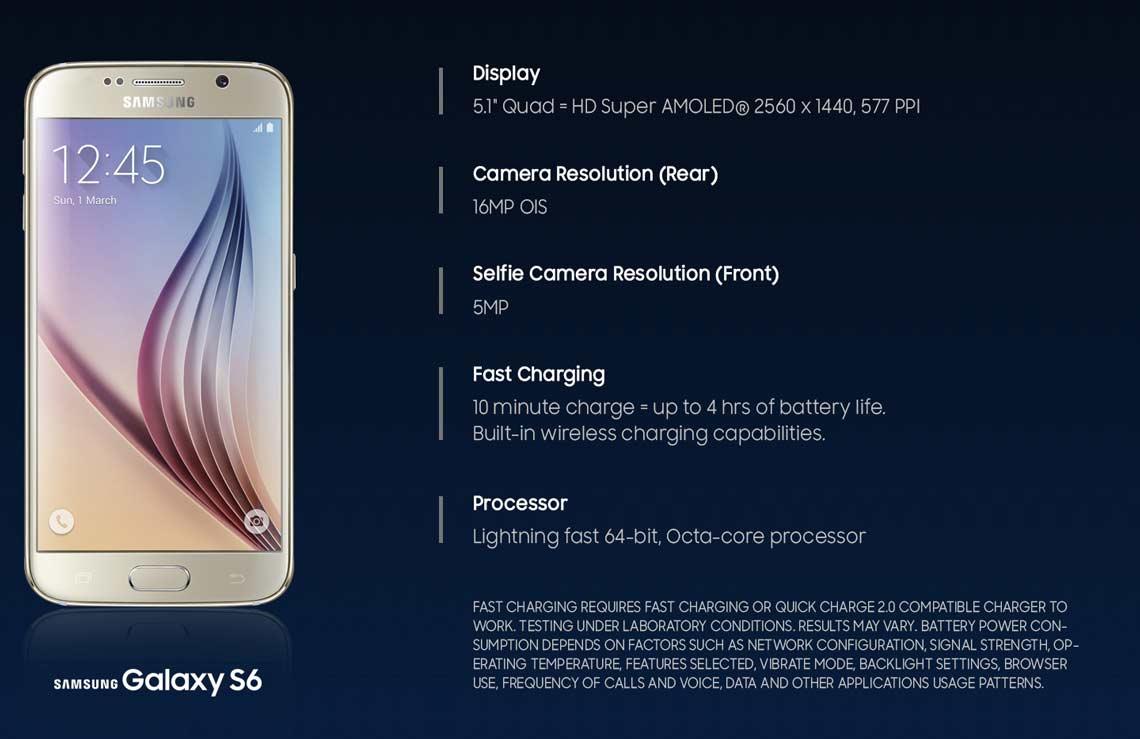 Samsung Galaxy S6  SM-G920I