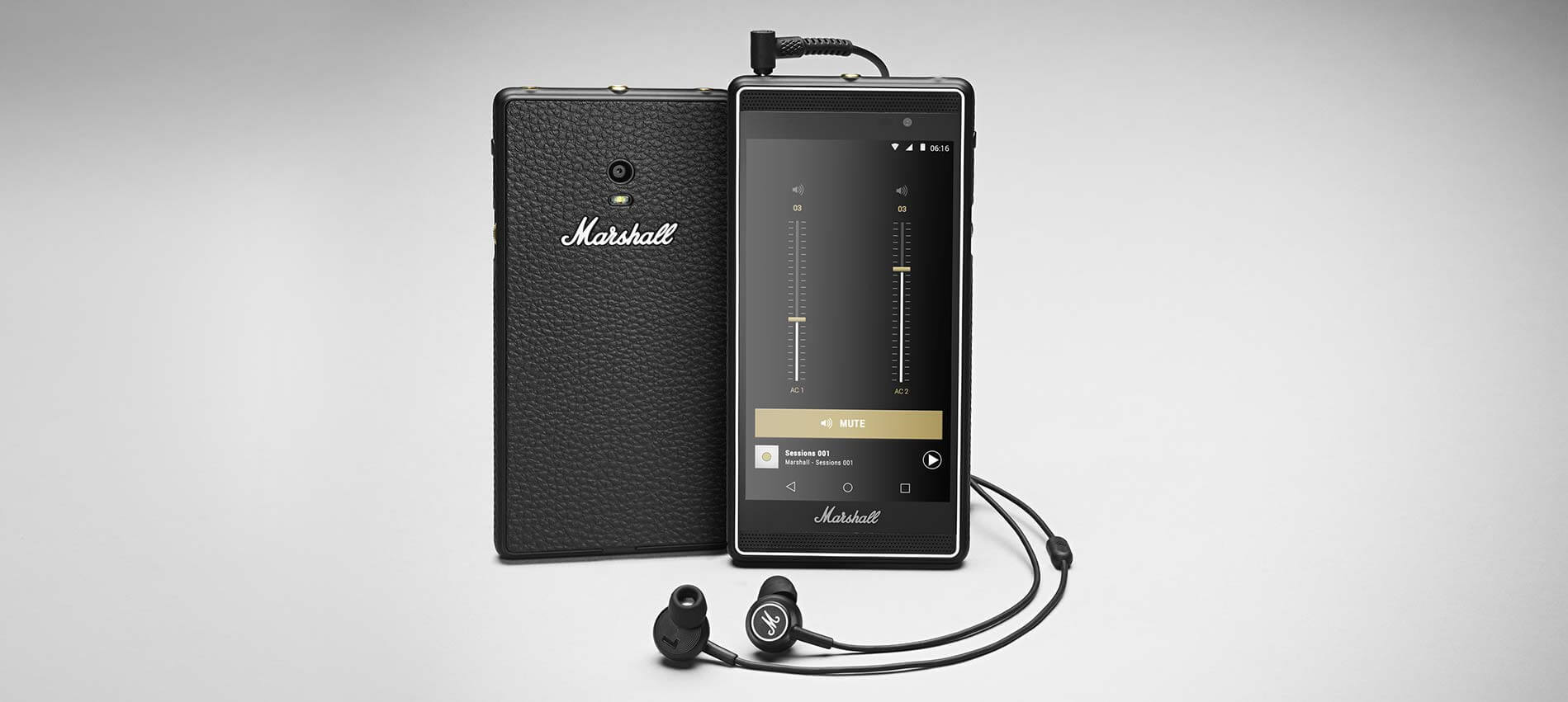 marshall london hight quality audio phone