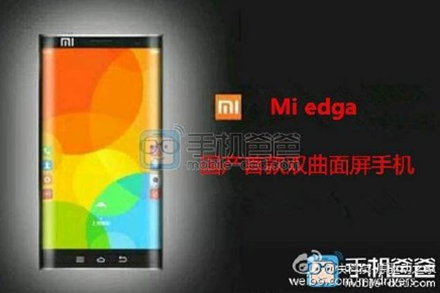 xiaomi mi edge curved display