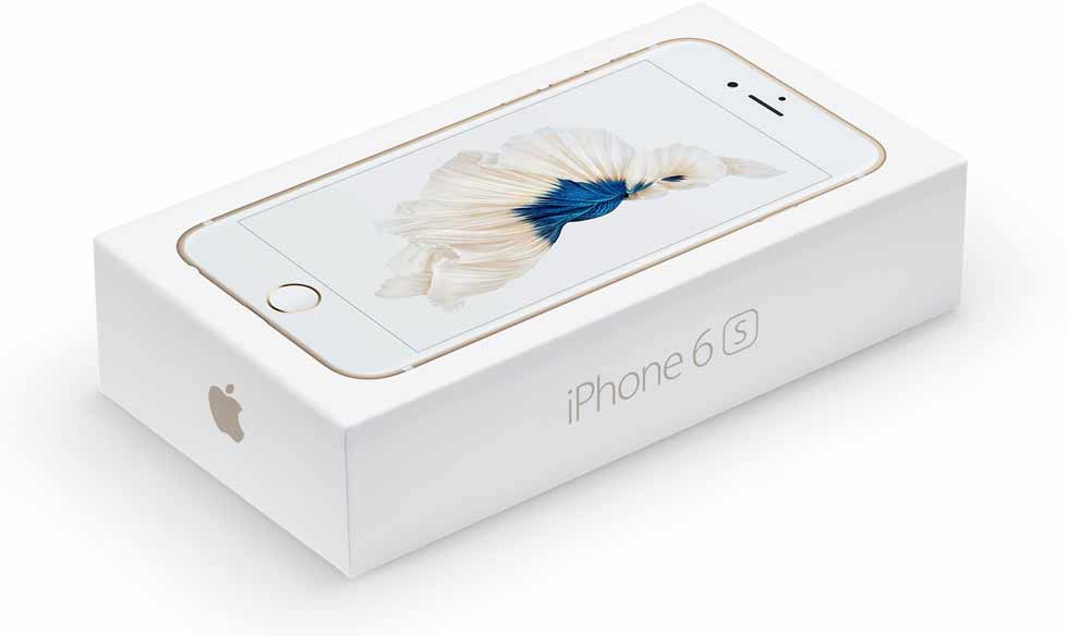 iPhone 6S retail box