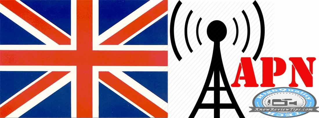 APN Settings for EE, O2, Vodafone, 3 three, Orange, Virgin, T-Mobile , JT in United Kingdom