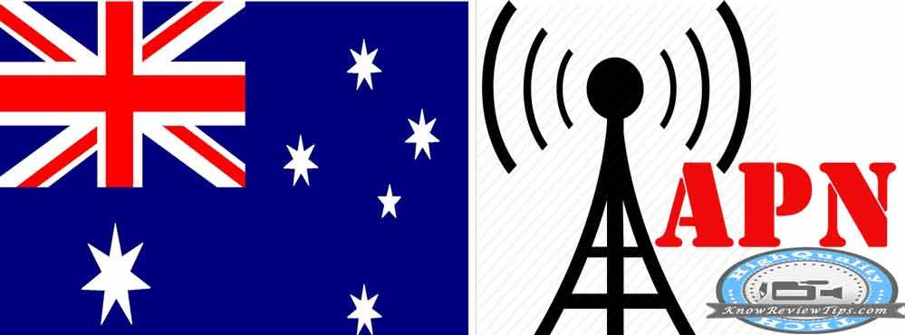 Australia Mobile operators APN Internet Settings for Yes Optus, Telstra, Three 3, Vodafone